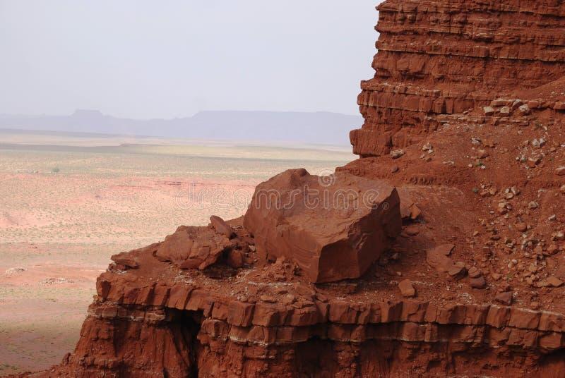 Взгляд Больдэра в долине памятника стоковые изображения rf