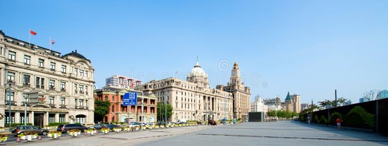 Взгляд бунда Шанхая стоковая фотография