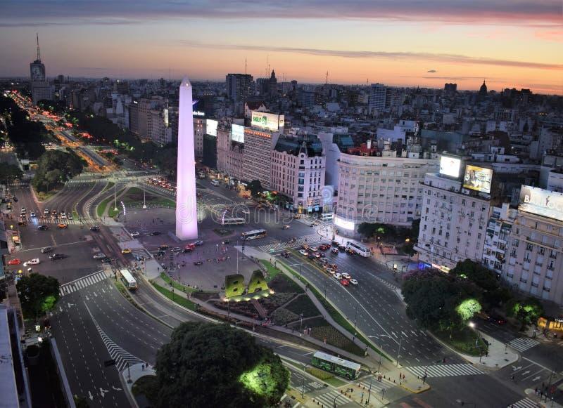 Взгляд Буэноса-Айрес, Аргентины, восемнадцатого из февраля 2017 стоковая фотография rf