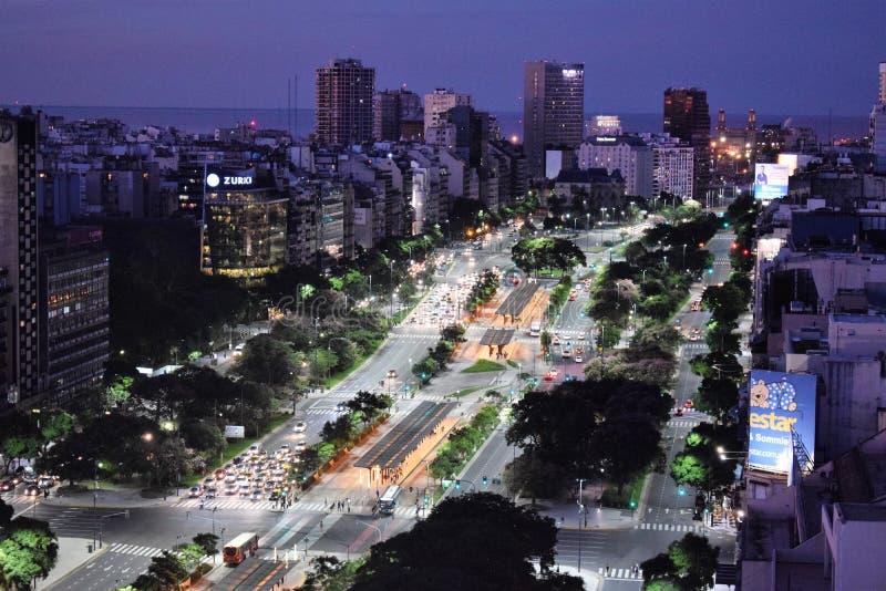 Взгляд Буэноса-Айрес, Аргентины, восемнадцатого из февраля 2017 стоковое изображение rf