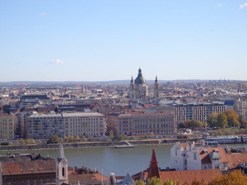 Взгляд Будапешта стоковая фотография rf