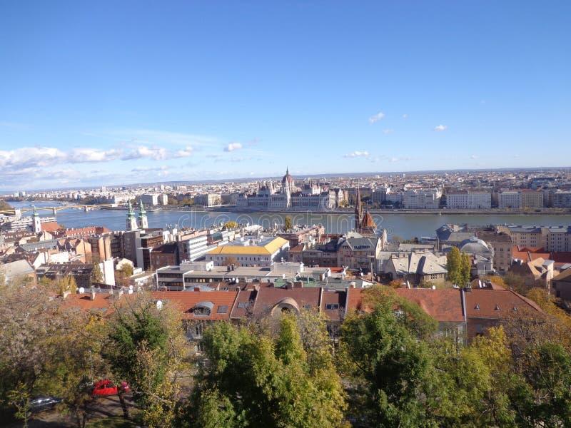 Взгляд Будапешта стоковые фото