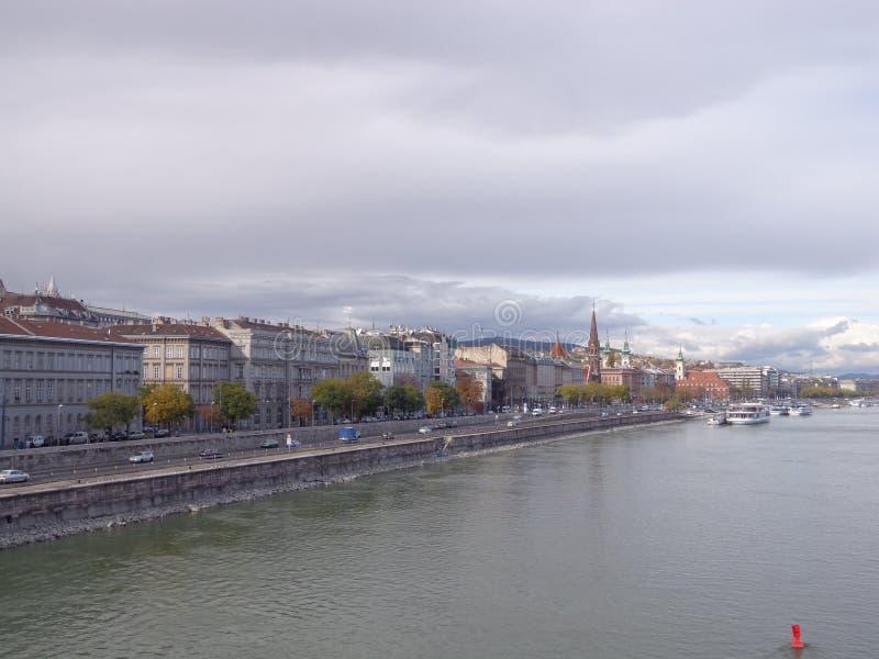 Взгляд Будапешта стоковое изображение rf