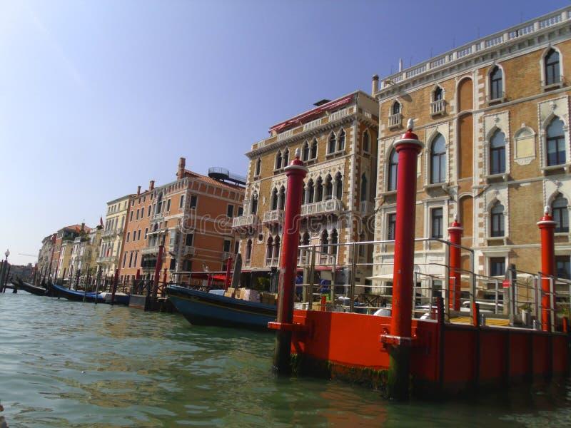 Взгляд венецианских зданий стоковые фото