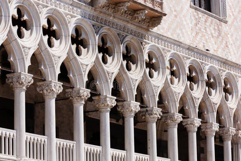 Взгляд дворца дожа, Италия стоковое фото rf