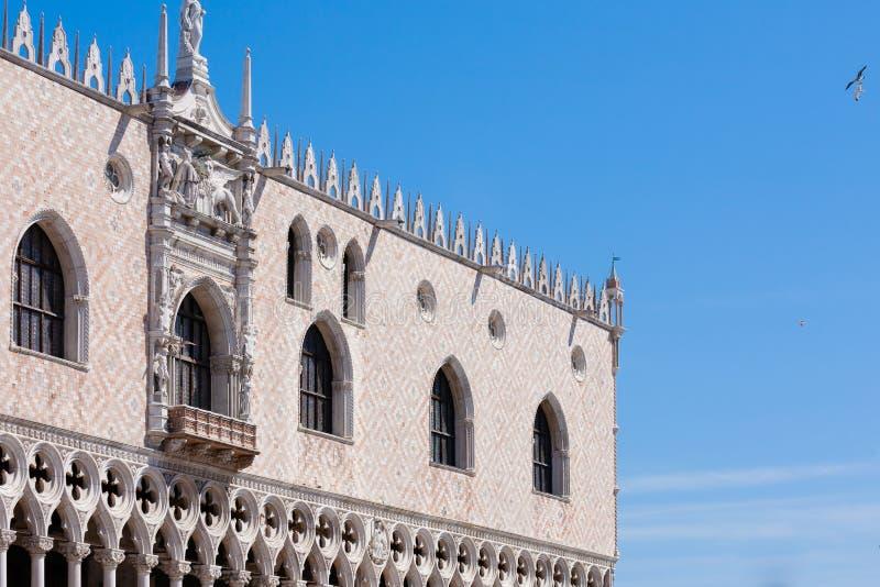 Взгляд дворца дожа, Италия стоковая фотография rf