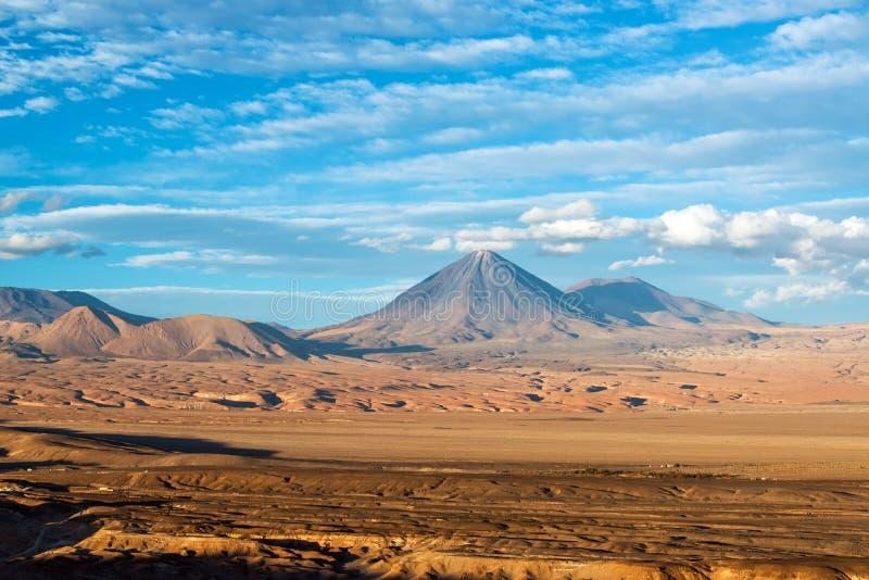 Взгляд вулкана Licancabur стоковые изображения