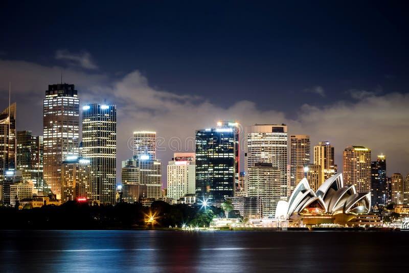 Взгляд гавани Сиднея стоковые фотографии rf