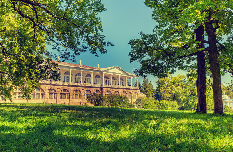 Взгляд галереи Камерона в парке Катрина стоковое фото