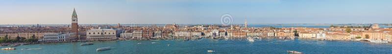 Взгляд города Венеции стоковые фотографии rf