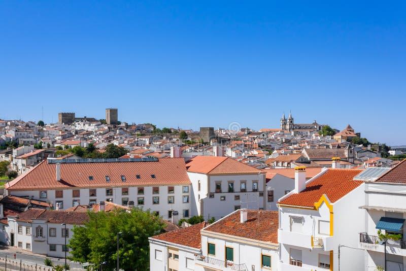 Взгляд города Portalegre стоковое изображение rf