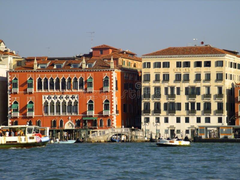 Взгляд гостиницы Danieli стоковое изображение