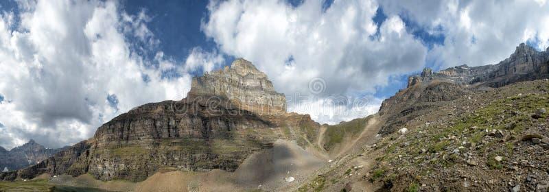 Взгляд ледника парка Yoho стоковые фото