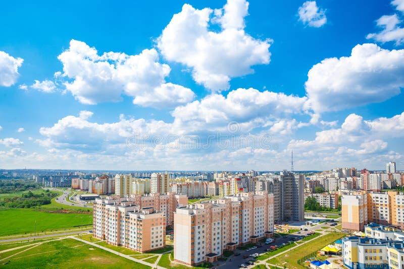 Взгляд жилого района стоковые фото