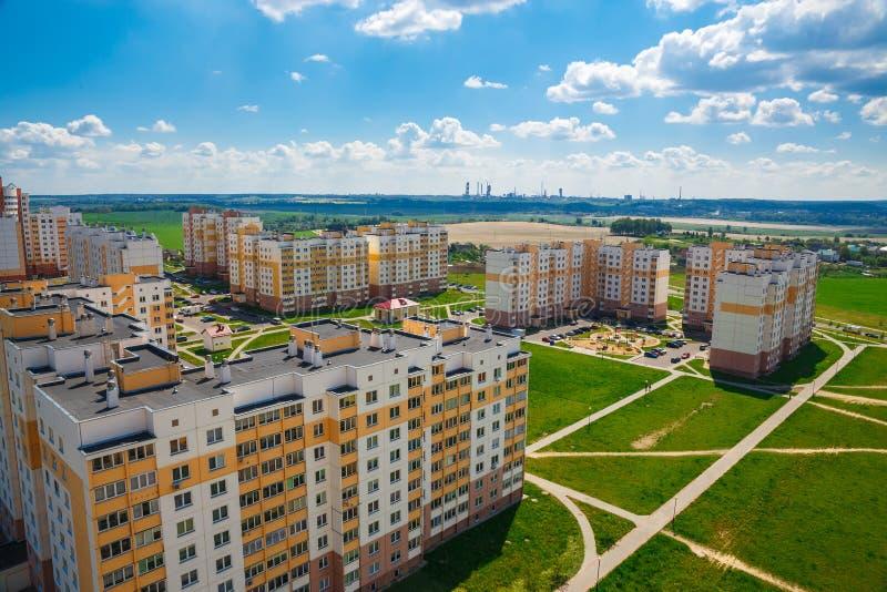 Взгляд жилого района стоковая фотография rf