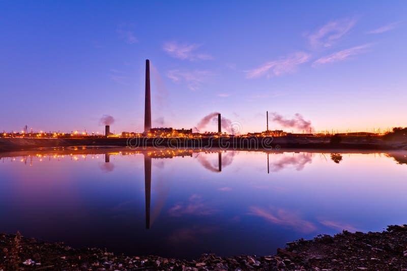 Взгляд завода никеля стоковая фотография rf