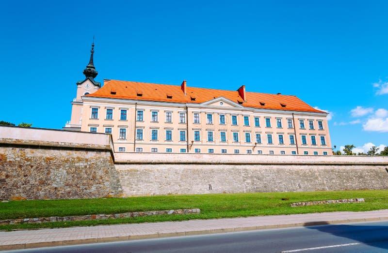 Взгляд замка в Rzeszow/Польше стоковое фото