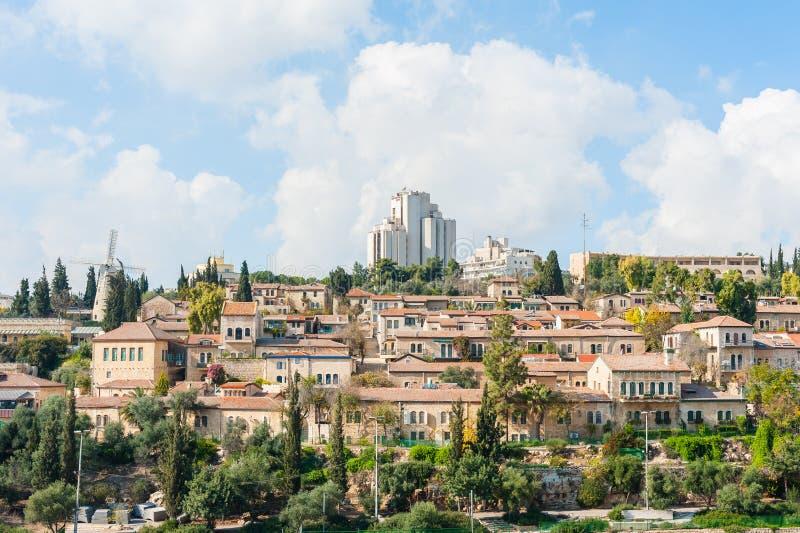 взгляд Иерусалима стоковое изображение