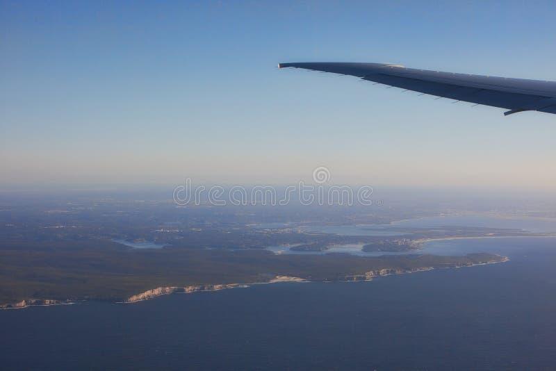 Взгляд линии Австралии costal стоковые фотографии rf