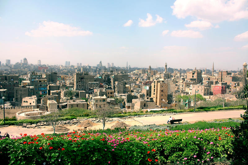 Взгляд Каира стоковое изображение