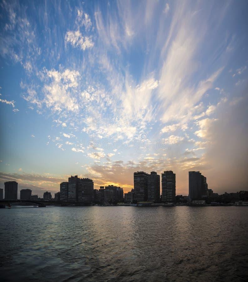 взгляд Каира стоковая фотография