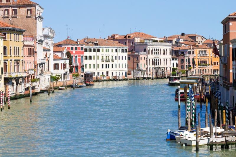 Взгляд канала большой, Венеция стоковые изображения rf