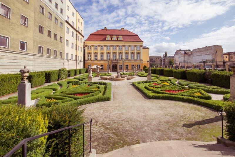 Взгляд королевского дворца в Wroclaw/Польше стоковые фотографии rf