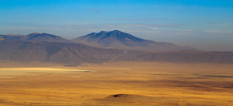 Взгляд кратера Ngorongoro стоковая фотография
