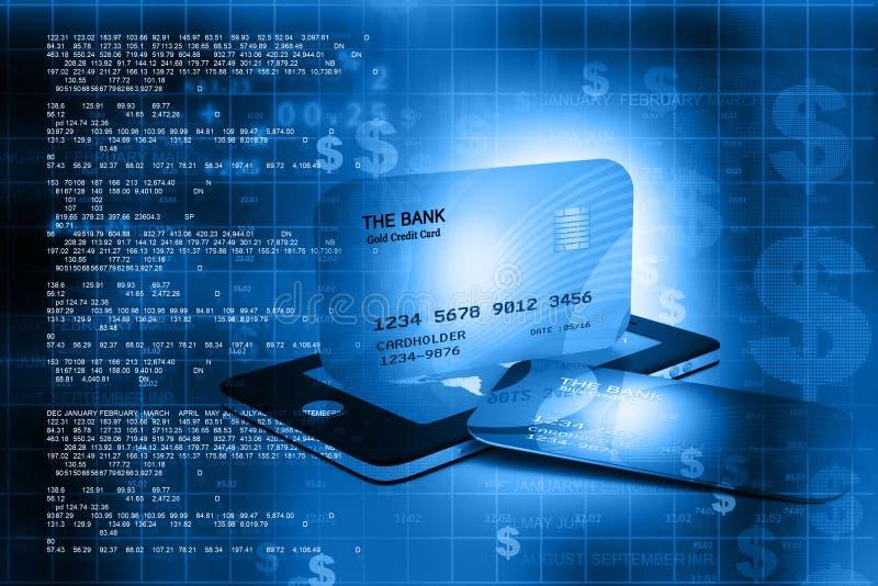 взгляд кредита конца карточки предпосылки финансовохозяйственный поднимающий вверх бесплатная иллюстрация