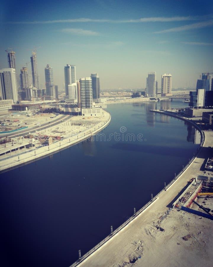 Взгляд крыши Дубай стоковые изображения