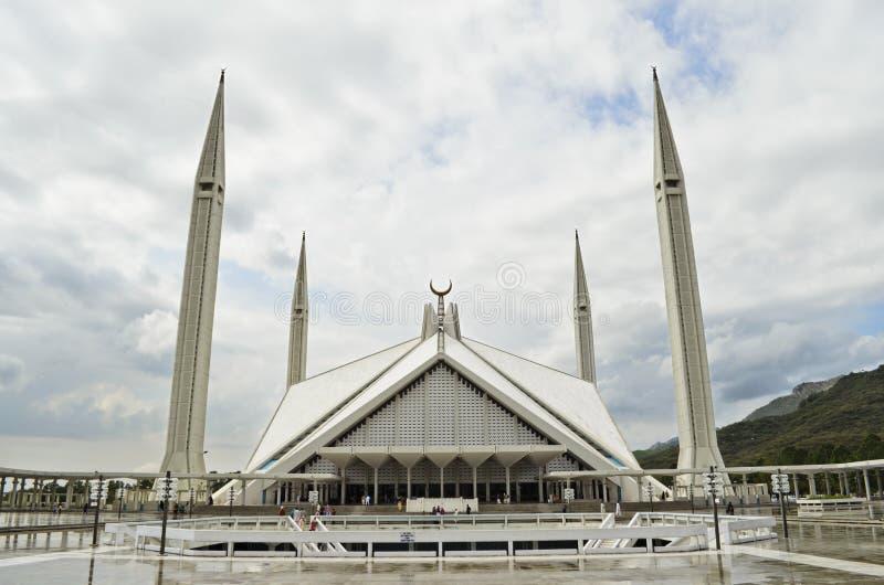 Мечеть Исламабад Shah Faisal стоковая фотография rf