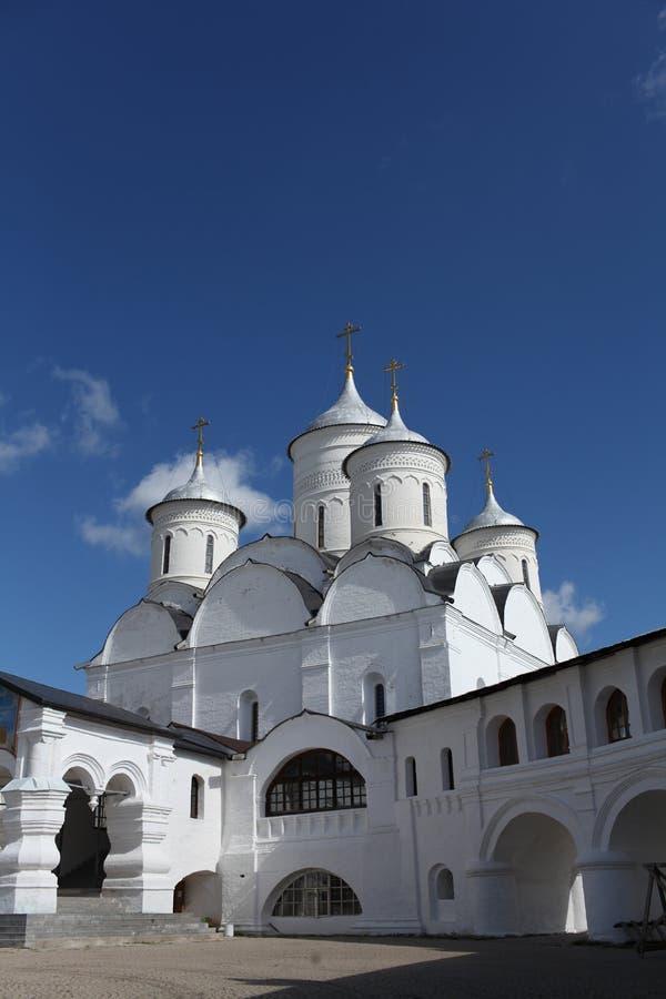 Взгляд монастыря Spaso-Prilutsky стоковые фото