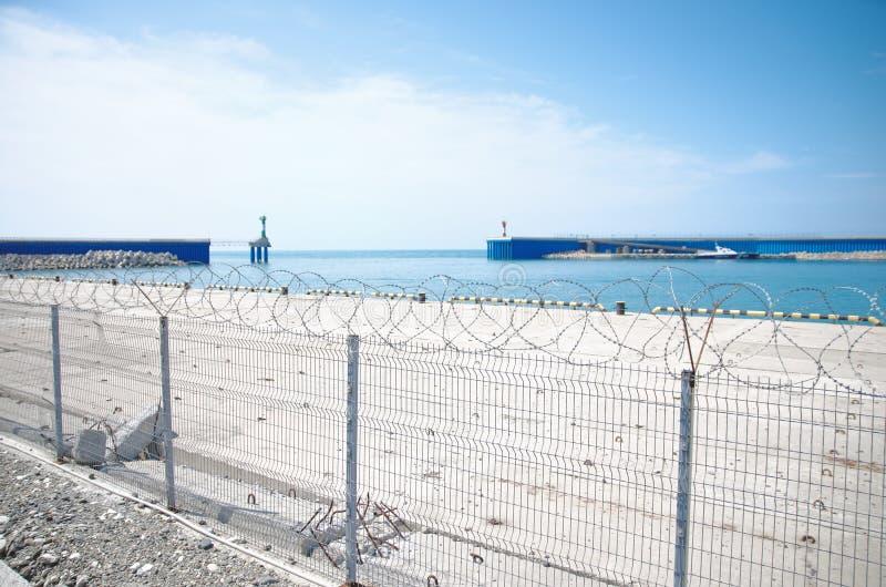 Взгляд на гавани стоковые изображения rf