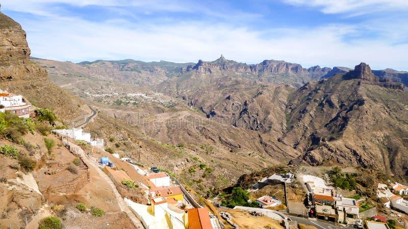 Взгляд на Парке Сельск del Nublo стоковая фотография