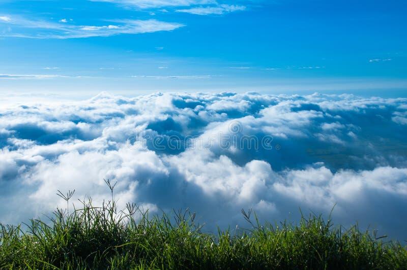 Взгляд облака стоковые фотографии rf