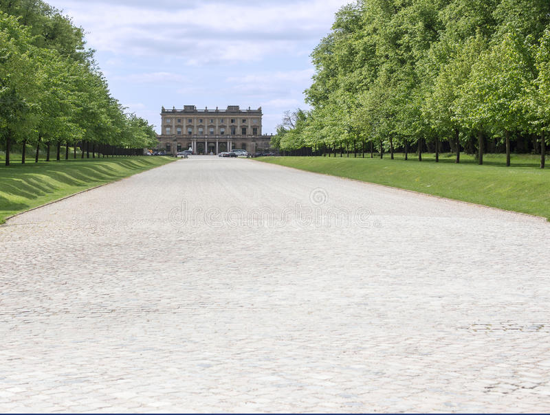 Взгляд дома Cliveden стоковое изображение rf