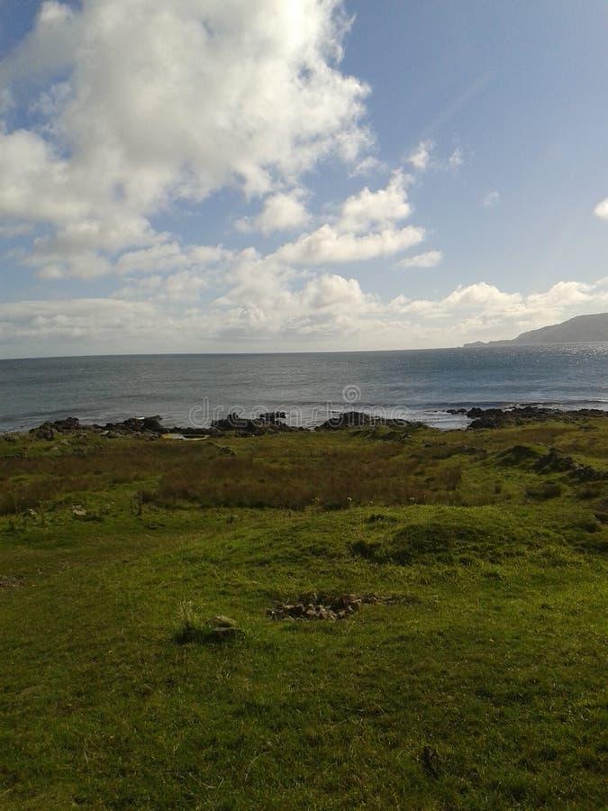 Взгляд острова Rathlin стоковое фото