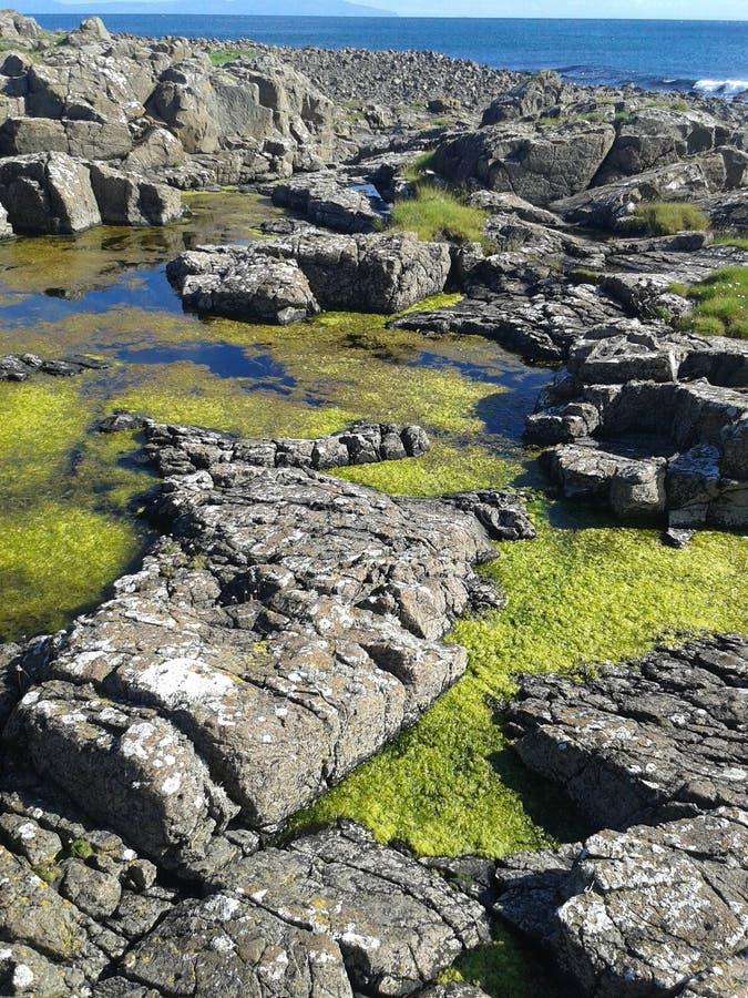 Взгляд острова Rathlin стоковые фотографии rf