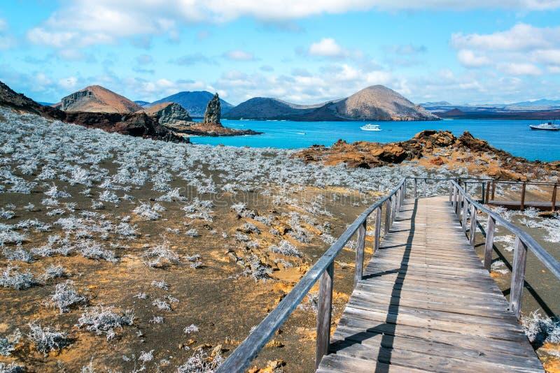 Взгляд островов Галапагос стоковые изображения