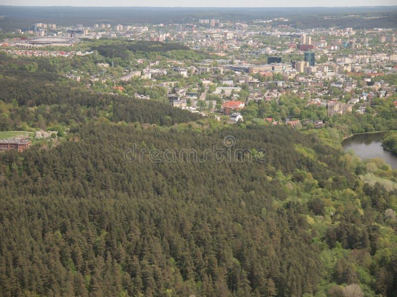 Download Взгляд от башни ТВ Вильнюса (Литва) Стоковое Фото - изображение насчитывающей взгляд, структура: 40577498