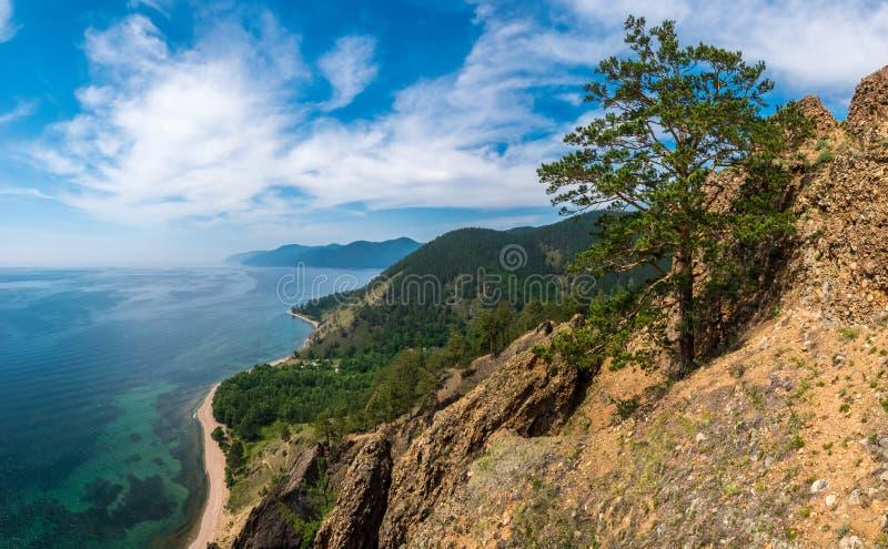 Взгляд от вершин скал Skriper стоковые фотографии rf