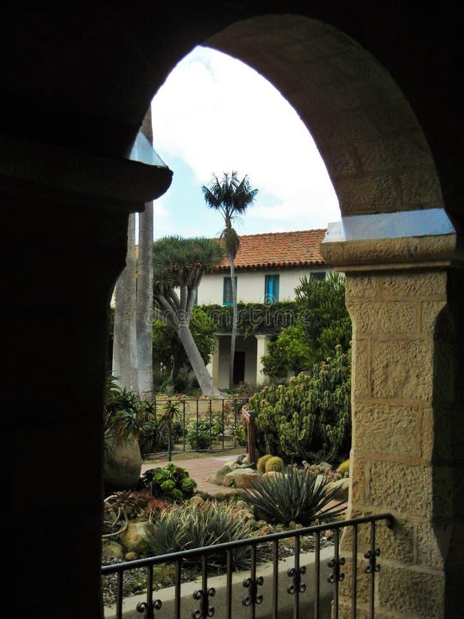 Взгляд от монастыря стоковое фото