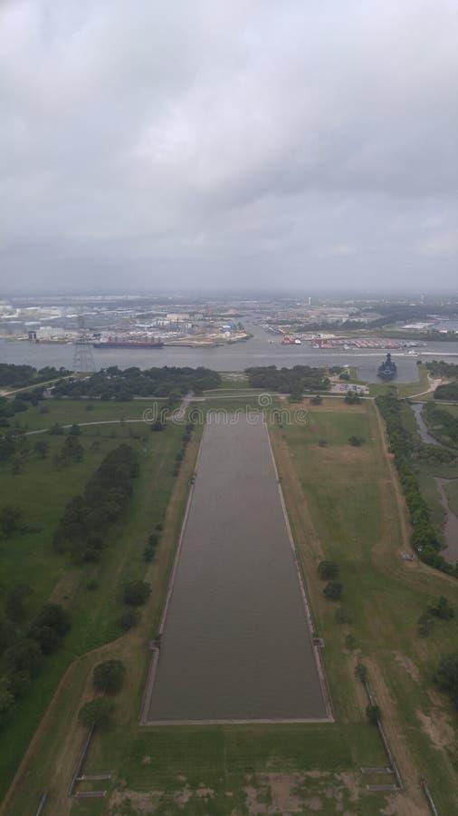 Взгляд от памятника Сан Jacinto стоковое фото rf