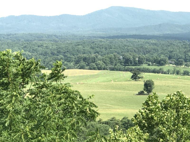 Взгляд от сценарного обозревает в Вирджинии стоковые изображения rf