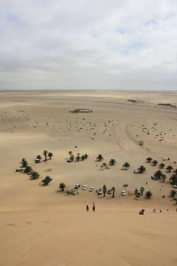 Взгляд от дюны 7 стоковые изображения rf
