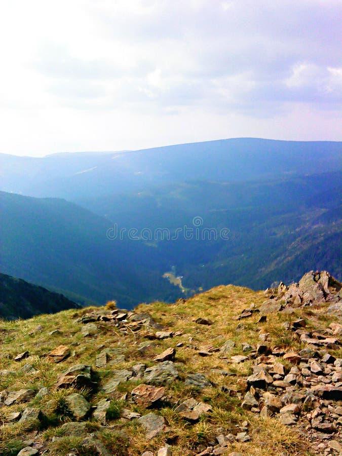 Взгляд от Krivaň стоковые фото