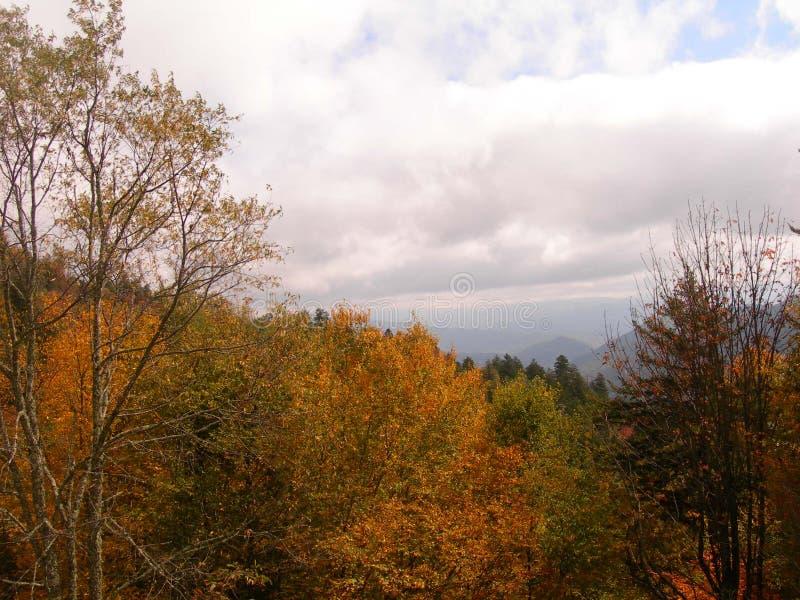 Взгляд долины горы GSM стоковая фотография