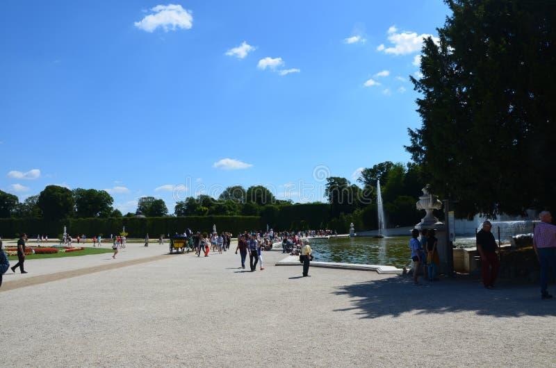 Взгляд парка стоковая фотография