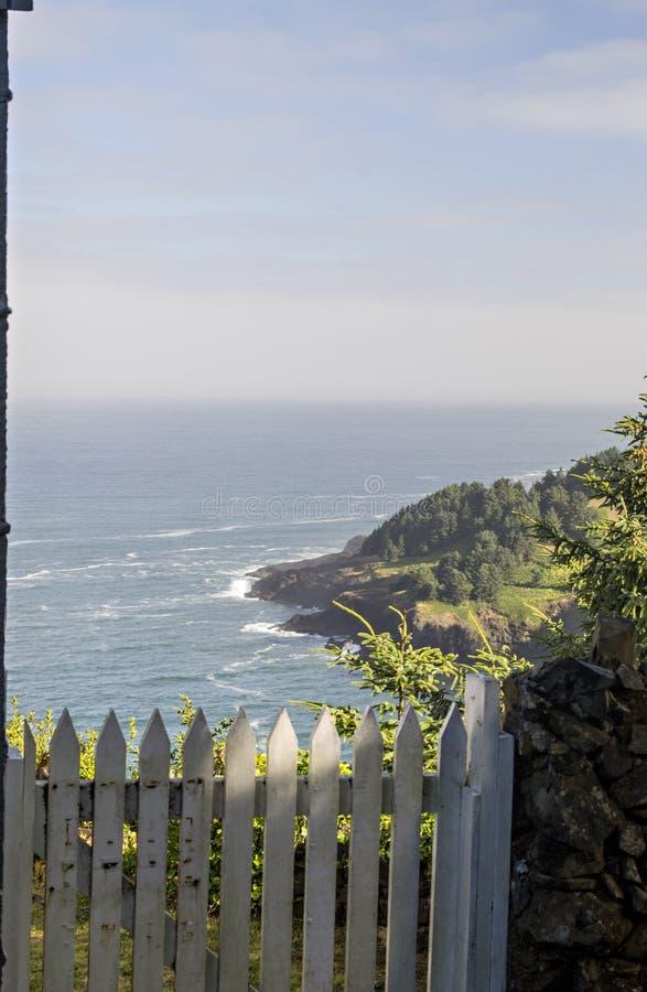 Взгляд побережья Орегона стоковые изображения rf