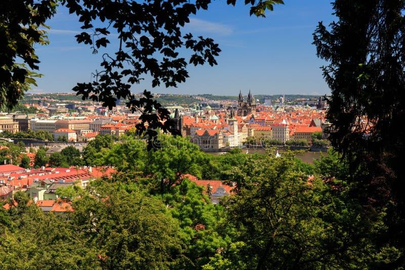 Взгляд Праги стоковое изображение rf